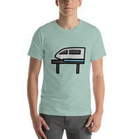 Emoji T-Shirt Store | Monorail emoji t-shirt in Green