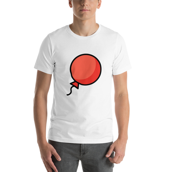 Emoji T-Shirt Store | Balloon emoji t-shirt in White