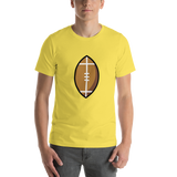 Emoji T-Shirt Store | American Football emoji t-shirt in Yellow