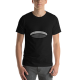 Emoji T-Shirt Store | Hole emoji t-shirt in Black
