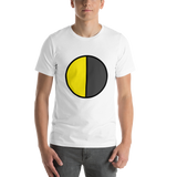 Emoji T-Shirt Store | Last Quarter Moon emoji t-shirt in White
