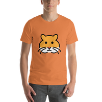 Emoji T-Shirt Store | Hamster emoji t-shirt in Orange