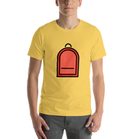 Emoji T-Shirt Store | Backpack emoji t-shirt in Yellow