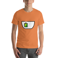 Emoji T-Shirt Store | Teacup Without Handle emoji t-shirt in Orange