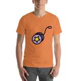 Emoji T-Shirt Store | Yo-Yo emoji t-shirt in Orange
