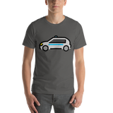 Emoji T-Shirt Store | Police Car emoji t-shirt in Dark gray