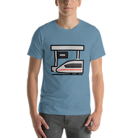 Emoji T-Shirt Store | Station emoji t-shirt in Blue