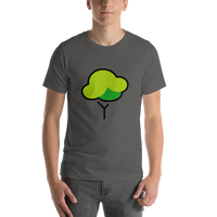 Emoji T-Shirt Store | Deciduous Tree emoji t-shirt in Dark gray