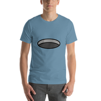 Emoji T-Shirt Store | Hole emoji t-shirt in Blue