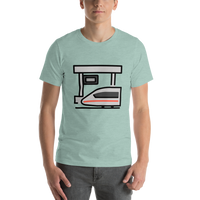 Emoji T-Shirt Store | Station emoji t-shirt in Green