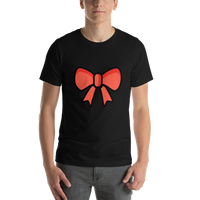 Emoji T-Shirt Store | Ribbon emoji t-shirt in Black