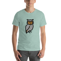 Emoji T-Shirt Store | Owl emoji t-shirt in Green