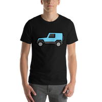 Emoji T-Shirt Store | Sport Utility Vehicle emoji t-shirt in Black