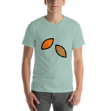 Emoji T-Shirt Store | Fallen Leaf emoji t-shirt in Green