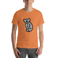 Emoji T-Shirt Store | Koala emoji t-shirt in Orange