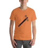 Emoji T-Shirt Store | Magic Wand emoji t-shirt in Orange