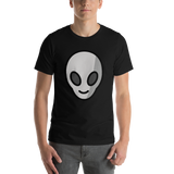 Emoji T-Shirt Store | Alien emoji t-shirt in Black