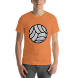 Emoji T-Shirt Store | Volleyball emoji t-shirt in Orange