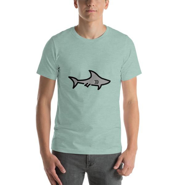 Emoji T-Shirt Store | Shark emoji t-shirt in Green