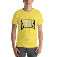Emoji T-Shirt Store | Goal Net emoji t-shirt in Yellow