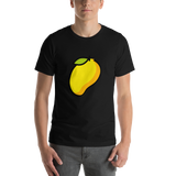 Emoji T-Shirt Store | Mango emoji t-shirt in Black