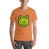 Emoji T-Shirt Store | Frog emoji t-shirt in Orange