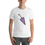 Emoji T-Shirt Store | Closed Umbrella emoji t-shirt in White
