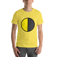 Emoji T-Shirt Store | Last Quarter Moon emoji t-shirt in Yellow