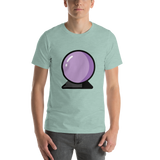 Emoji T-Shirt Store | Crystal Ball emoji t-shirt in Green