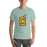 Emoji T-Shirt Store | Beverage Box emoji t-shirt in Green
