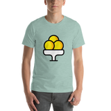 Emoji T-Shirt Store | Ice Cream emoji t-shirt in Green