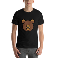 Emoji T-Shirt Store | Bear emoji t-shirt in Black