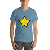 Emoji T-Shirt Store | Star emoji t-shirt in Blue