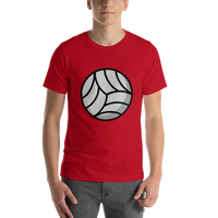 Emoji T-Shirt Store | Volleyball emoji t-shirt in Red