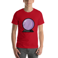 Emoji T-Shirt Store | Crystal Ball emoji t-shirt in Red
