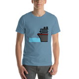 Emoji T-Shirt Store | Ferry emoji t-shirt in Blue