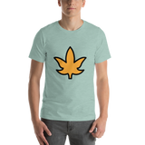 Emoji T-Shirt Store | Maple Leaf emoji t-shirt in Green