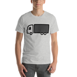Emoji T-Shirt Store | Articulated Lorry emoji t-shirt in Light gray