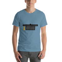 Emoji T-Shirt Store | Graduation Cap emoji t-shirt in Blue