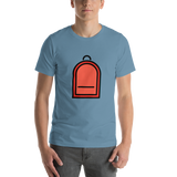 Emoji T-Shirt Store | Backpack emoji t-shirt in Blue