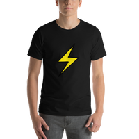 Emoji T-Shirt Store | High Voltage emoji t-shirt in Black