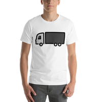 Emoji T-Shirt Store | Articulated Lorry emoji t-shirt in White