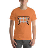 Emoji T-Shirt Store | Goal Net emoji t-shirt in Orange