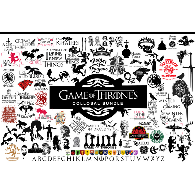 Game of Thrones SVG