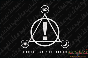 Panici at the disco svg,panic at the disco svg,pandemic svg,funny costco shirt,costco panic svg,panic at the costco,black friday svg,patd logo,black history month,silhouette svg, cricut svg files, decal and vinyl,