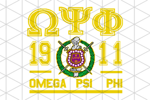 Omega psi phi fraternity bundle svg, omega psi phi, omega gift, blood and thunder, 1911 svg, since 1911, omega shirt, omega sorority, omega decal, omega svg, sorority svg, sorority gift, black fraternity svg, black sorority svg,