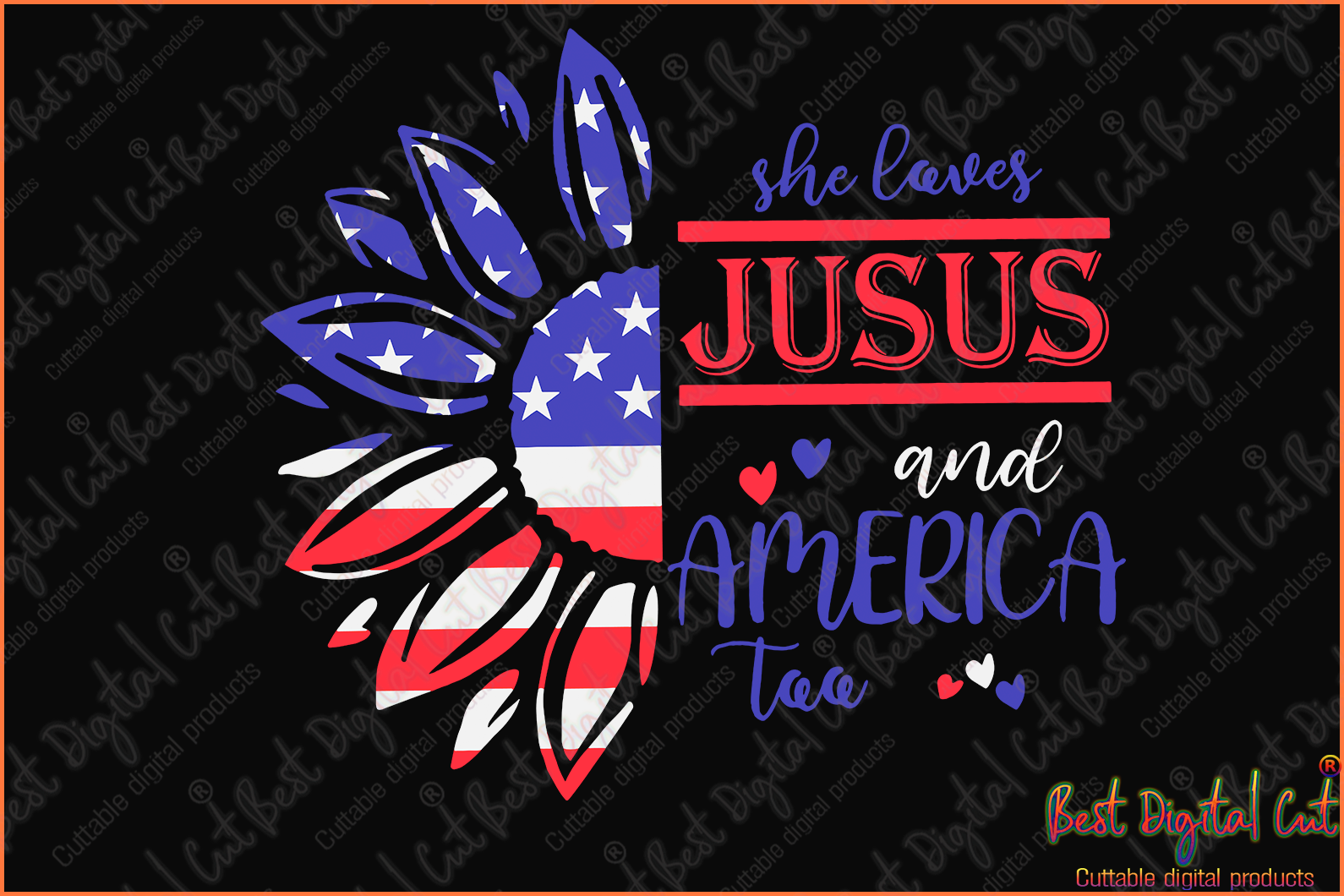 She loves jusus and America too svg,sunflowers svg,American flag svg,Happy 4th of July 2020 svg,freedom day svg,love beer svg,American holiday,1776 July 4th,independence day svgs,black lives matter shirt,black history month