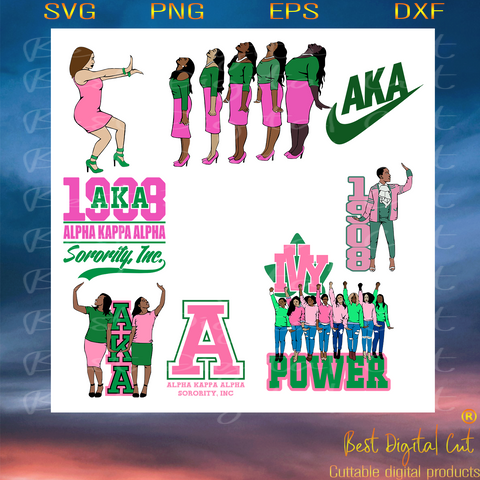 Alpha kappa alpha bundles svg, svg,Aka Girl gang svg,aka sorority svg, Aka svg, aka shirt, aka sorority,aka 1908 svg,nutritional facts,svg cricut, silhouette svg files, cricut svg, silhouette svg, svg designs, vinyl svg