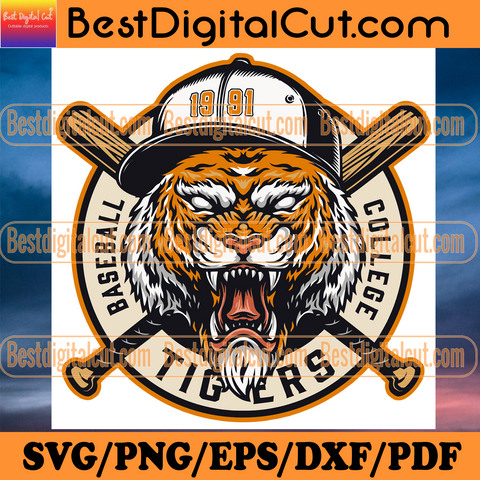 Baseball Tigers College 1991, Sport Svg, Baseball Svg, LSU Tigers Baseball Team, Baseball Team Svg, Tigers Baseball Svg, Baseball College Svg, Baseball Season, 1991 Baseball, LSU Baseball, Tigers 1991 svg