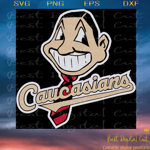 Caucasians, Cleveland Indians Logo, Trending Svg, Parody Chief Svg, Long Sleeve Svg, Black Lives Matter Svg, Baseball Svg, Short Sleeve Svg, Men Shirt Svg, Wahoo Mascot Icon, White Man Face Head Svg